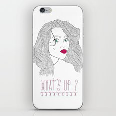 What's Up ? iPhone & iPod Skin