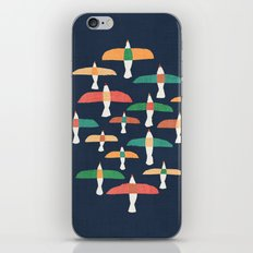 Vintage seagull iPhone Skin