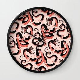 ssssssneks Wall Clock
