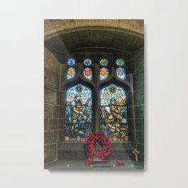 War Memorial Window Metal Print