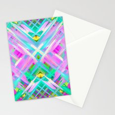 Colorful digital art splashing G473 Stationery Cards