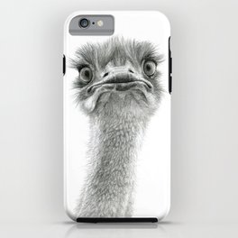 Cute Ostrich SK053 iPhone Case