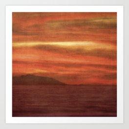 Taffeta Sky Art Print