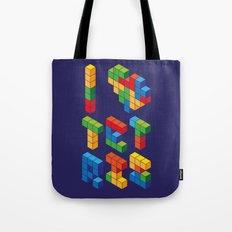 I Heart Tetris Tote Bag