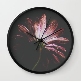 flower IX Wall Clock