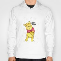 winnie the pooh Hoodies featuring Winnie the Pooh by laura nye.