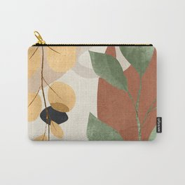 Branches and Leaves in an Abstraction 02 Carry-All Pouch