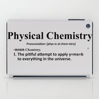 chemistry iPad Cases featuring Physical chemistry by Rhodium Clothing