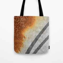 Rust Abstract I Tote Bag