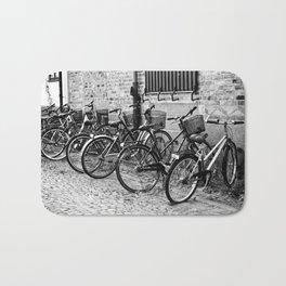 Bike parking only Bath Mat