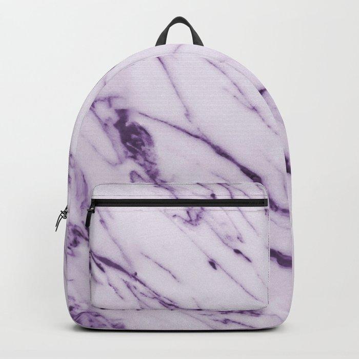 Violet Marble Design Backpack