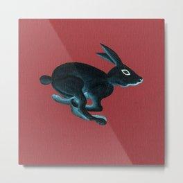 American Rex Rabbit Metal Print