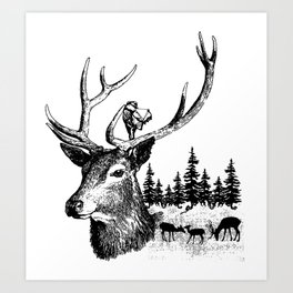 Hunting Season Art Print