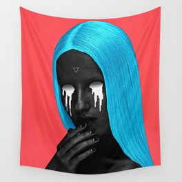 small upside down triangle Wall Tapestry