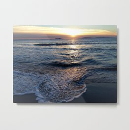 Silver Strand Paradise Metal Print