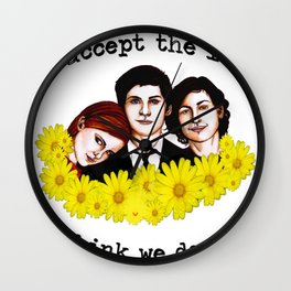 Perks of being a Wallflower Wall Clock
