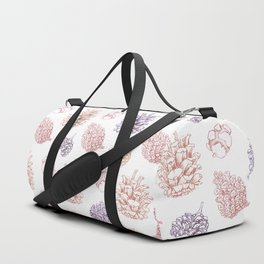 winter cone pattern II Duffle Bag