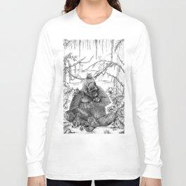 Koko Love Graphite Drawing Long Sleeve T-shirt