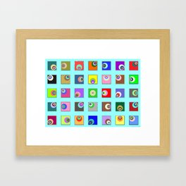 The Worms are coming 01 Framed Art Print