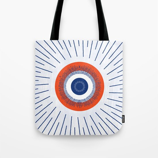 Eye Think Too Much Tote Bag