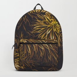 Green Leafs Texture Backpack