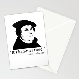 It's Hammer Time Stationery Cards