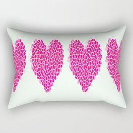Heart to heart Rectangular Pillow