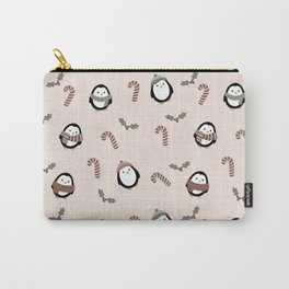 christmas penguins Carry-All Pouch