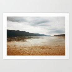 golden sands Art Print