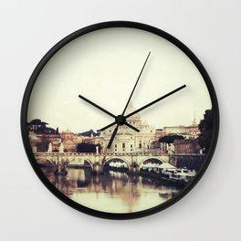 Tiber River Wall Clock
