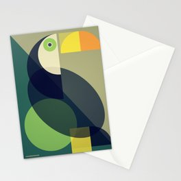 Mid Century Toucan Stationery Cards