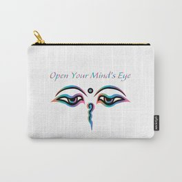 Open Your Mind's Eye_Rainbow Carry-All Pouch