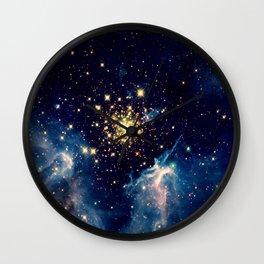 Nebula & Stars Wall Clock