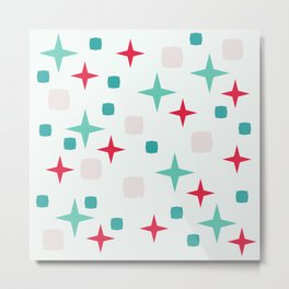 Retro pattern #society6 #decor #buyart #artprint Metal Print