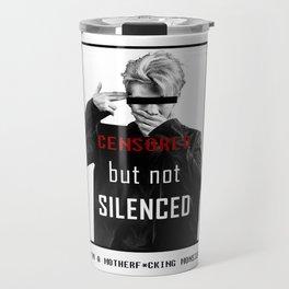 BTS Rapmonster Censored Travel Mug