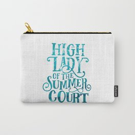 High Lady Summer Court ACOTAR Carry-All Pouch