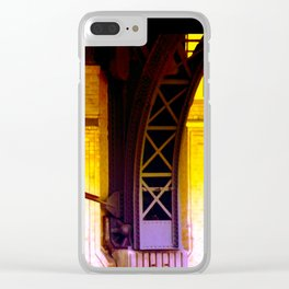 cable dance Clear iPhone Case