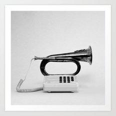Blower/Horn Art Print