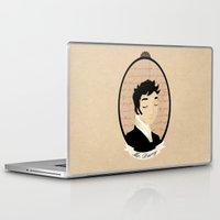 pride and prejudice Laptop & iPad Skins featuring Pride and prejudice - Mr Darcy by Stravaganza