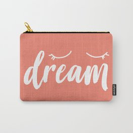 Coral Dream Carry-All Pouch