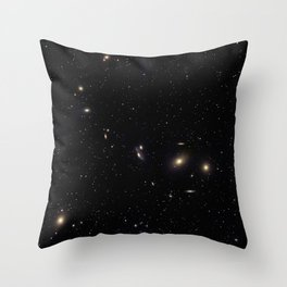 Galaxy Cluster Throw Pillow