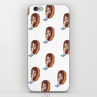 treat yo self iPhone & iPod Skins featuring Treat Yo Self by Kim Wells