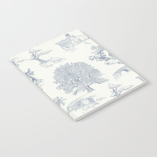 Shire Toile Notebook