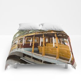 San Francisco Cable Car Comforters