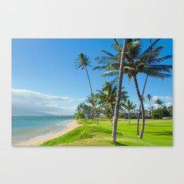 Waipuilani Beach Kihei Maui Hawaii Canvas Print