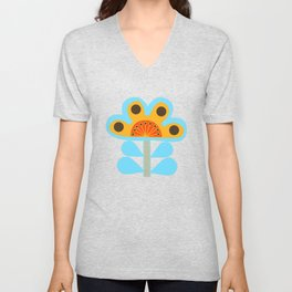 swedish flowers Unisex V-Neck