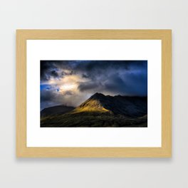 In High Places Framed Art Print