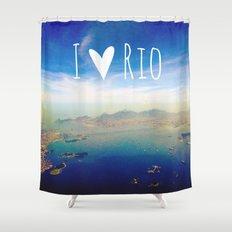 I love Rio Shower Curtain