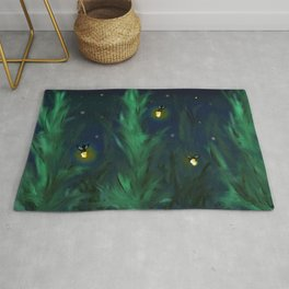 A night at home Rug