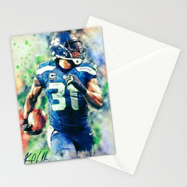 Kam Chancellor Stationery Cards